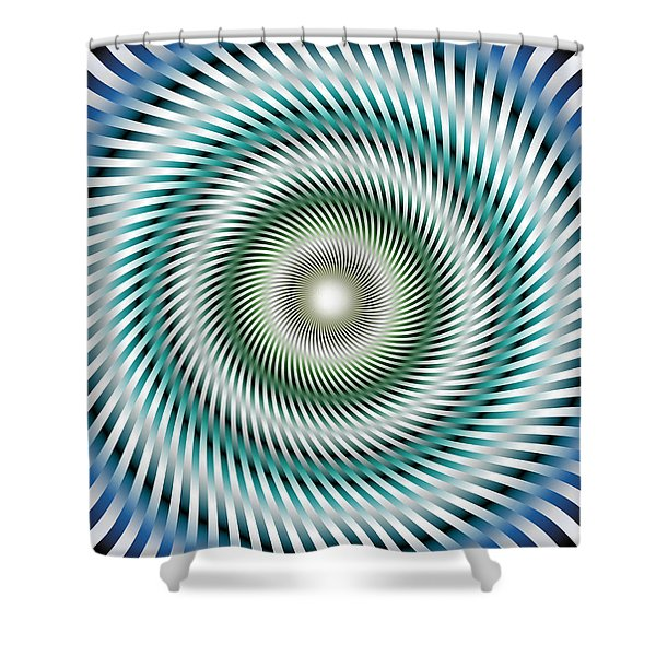 Look In My Eyes Shower Curtain