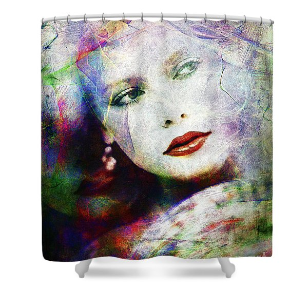 Looking At Tomorrow Shower Curtain