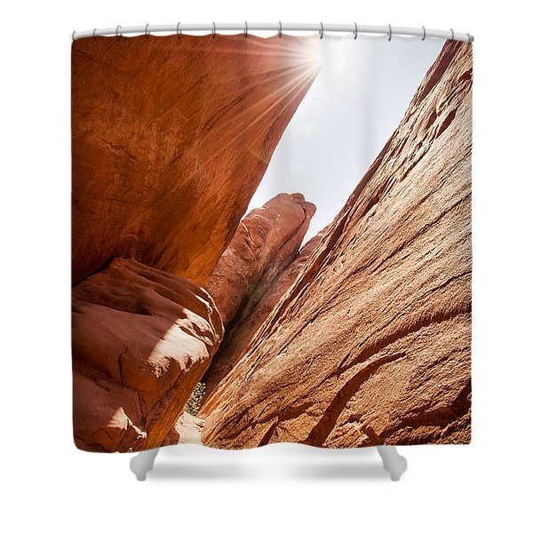 Looking For Sand Dune Arch Shower Curtain