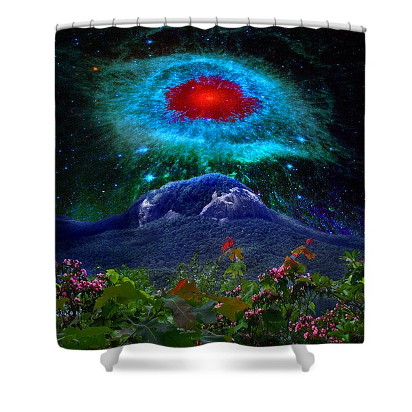 Looking Glass Rock Event 1 Shower Curtain
