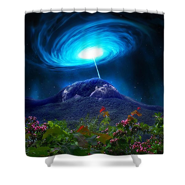 Looking Glass Rock Event 2 Shower Curtain