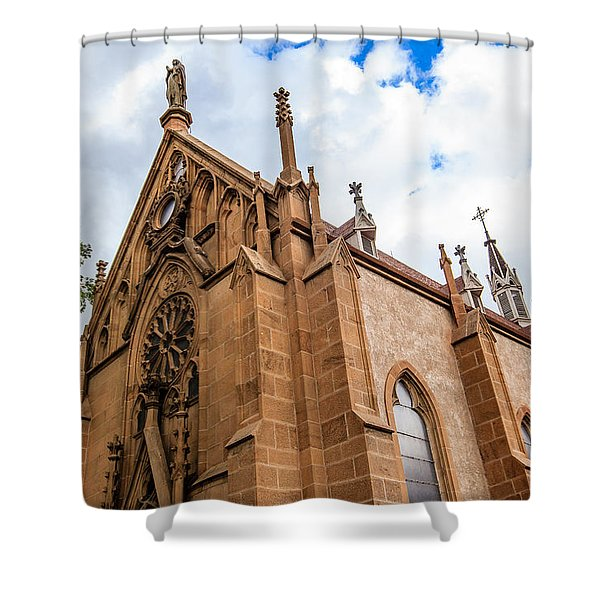 Loretto Chapel Shower Curtain