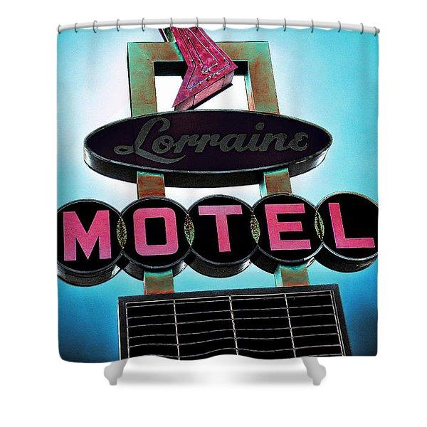 Lorraine Motel Shower Curtain