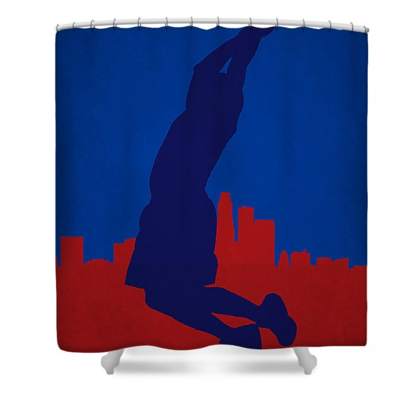 Los Angeles Clippers Blake Griffin Shower Curtain