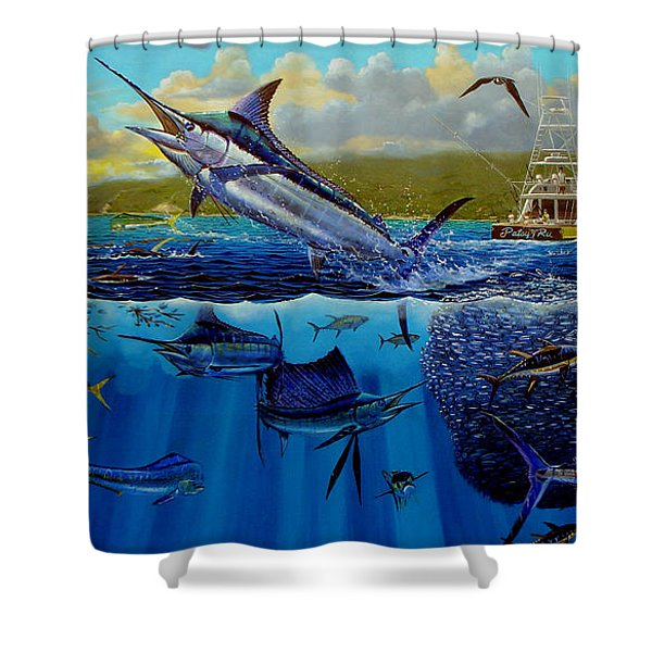 Los Suenos Shower Curtain
