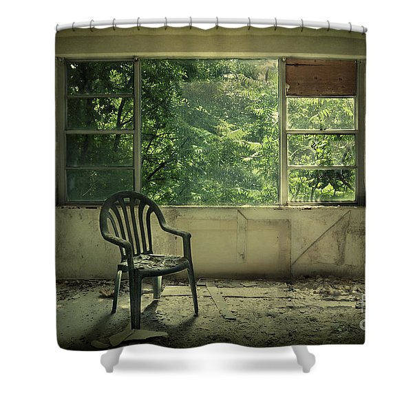 Lose Your Delusions Shower Curtain