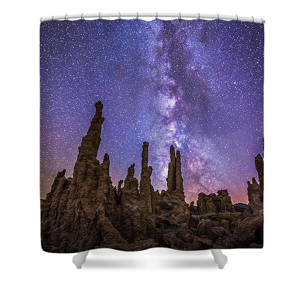 Lost Planet Shower Curtain
