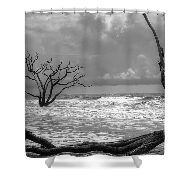 Lost To The Sea Shower Curtain