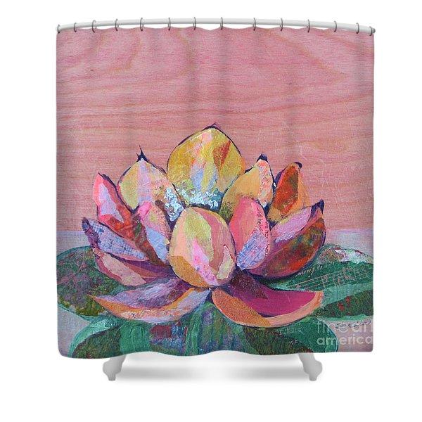 Lotus I Shower Curtain