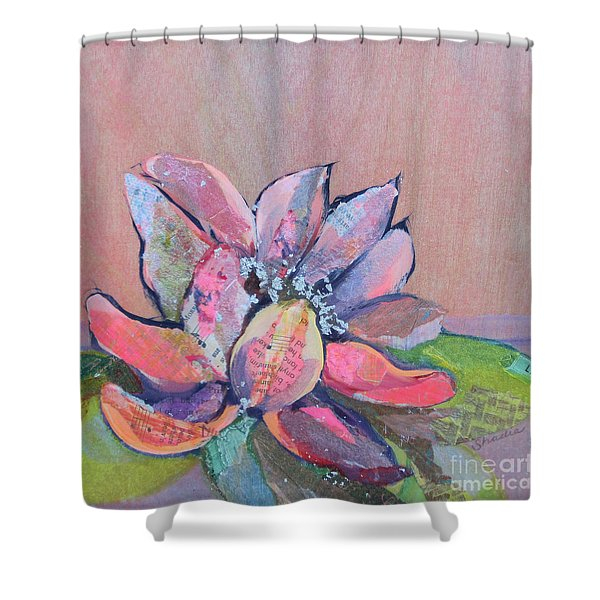 Lotus Iv Shower Curtain