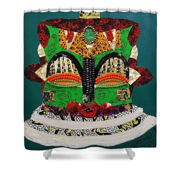 Lotus Warrior Shower Curtain