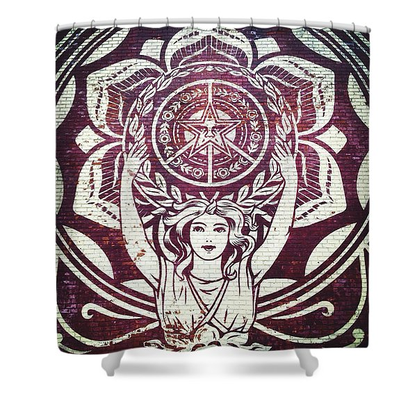 Lotus Woman Of Brooklyn Shower Curtain