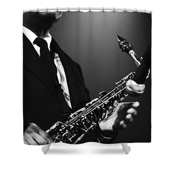 Lou Donaldson 1 Shower Curtain