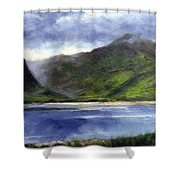 Loughros Bay Ireland Shower Curtain