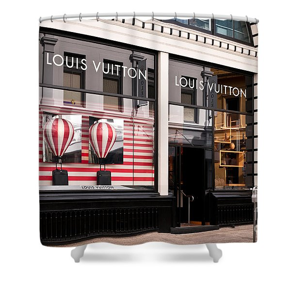 Louis Vuitton 04 Shower Curtain