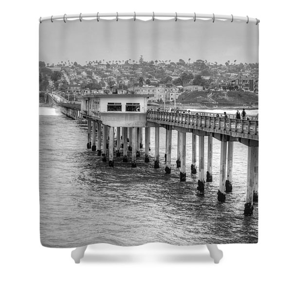 Love At First Wave Shower Curtain
