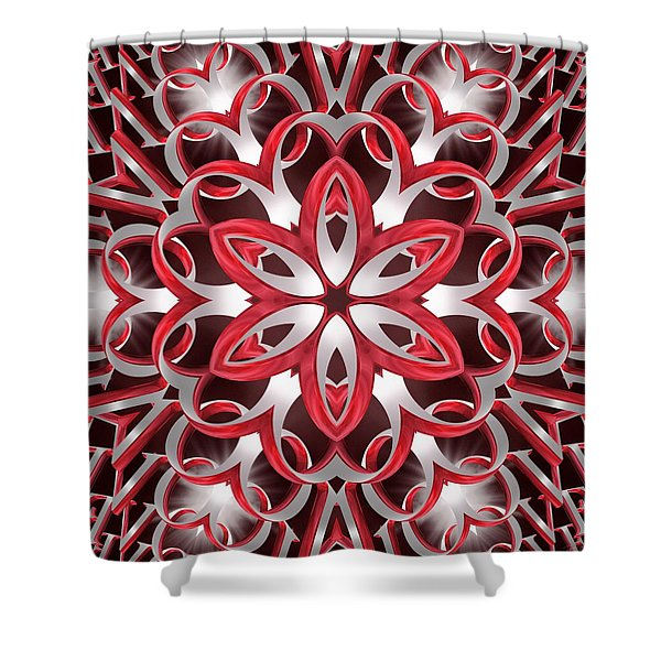 Love Blossoms Shower Curtain