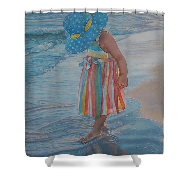 Love Comes In Many Colors Shower Curtain by Holly Kallie