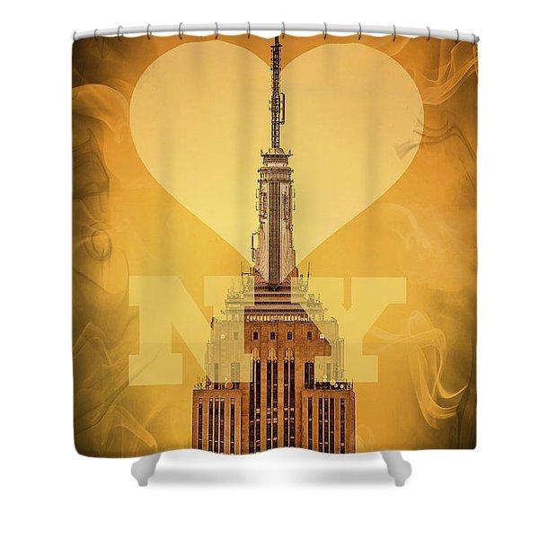 Love New York Shower Curtain