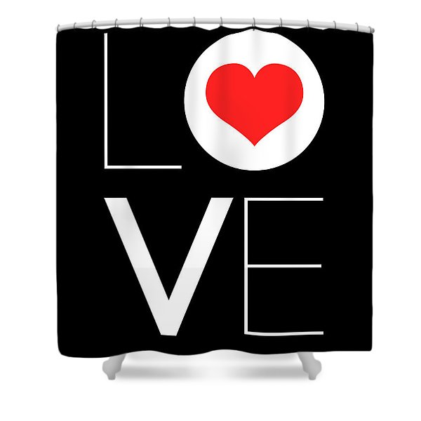Love  Poster 7 Shower Curtain