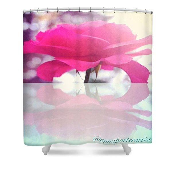 love Takes Off Masks That We Fear We Shower Curtain