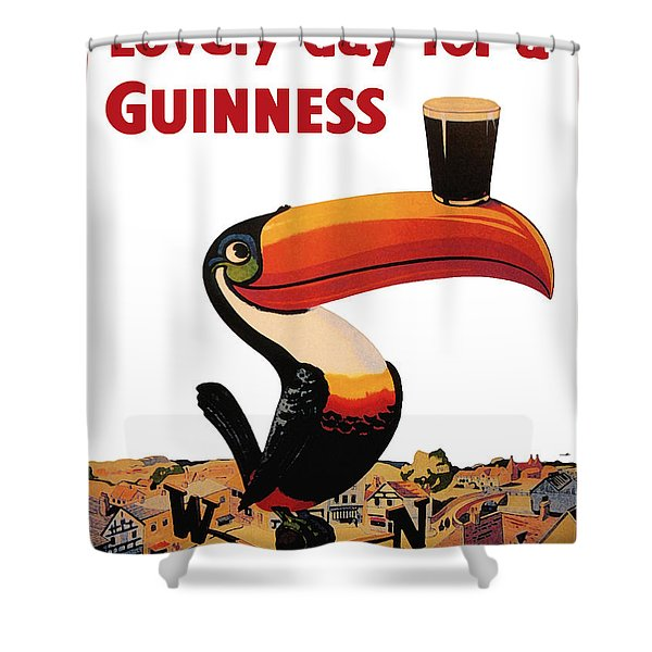 Lovely Day For A Guinness Shower Curtain