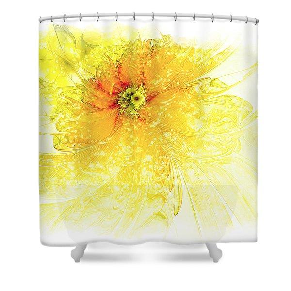 Lovely Lemon Shower Curtain
