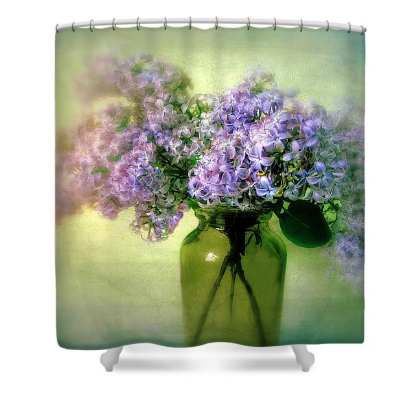 Lovely Lilac  Shower Curtain