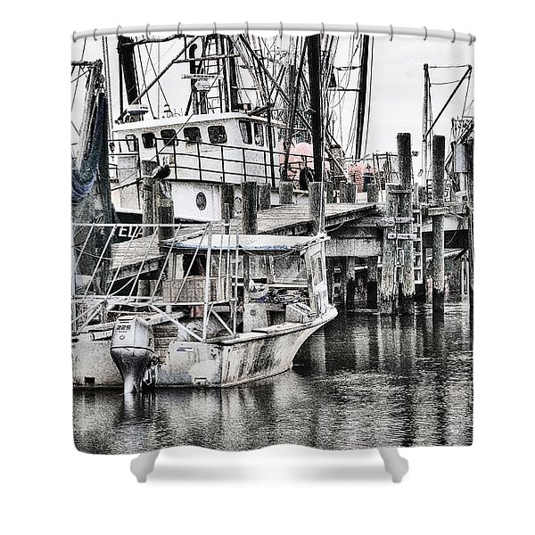 Low Country Small Craft Shower Curtain