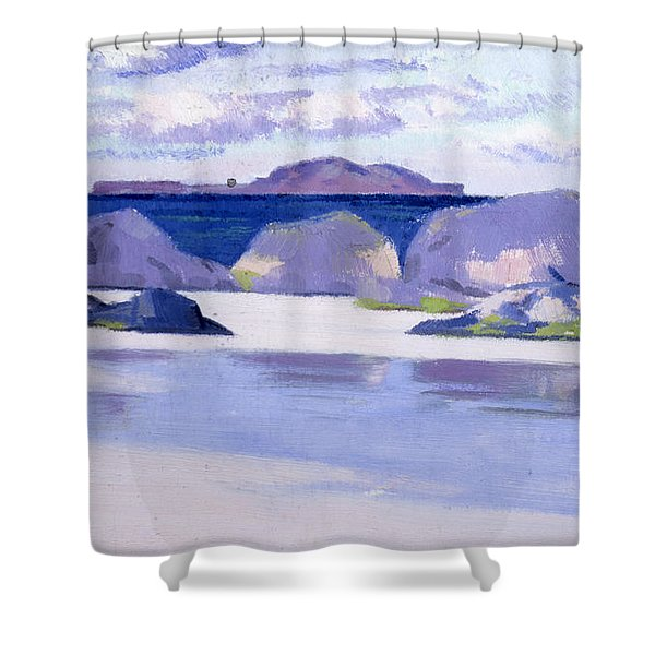 Low Tide  Iona Shower Curtain