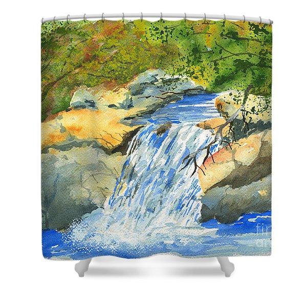 Lower Burch Creek Shower Curtain
