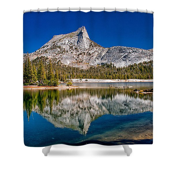 Lower Cathedral Lake Shower Curtain