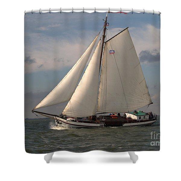 Loyal Winds Shower Curtain