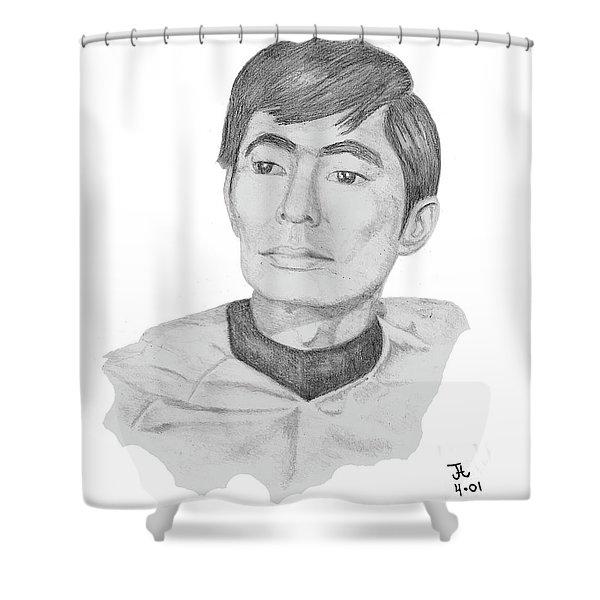 Lt. Sulu Shower Curtain