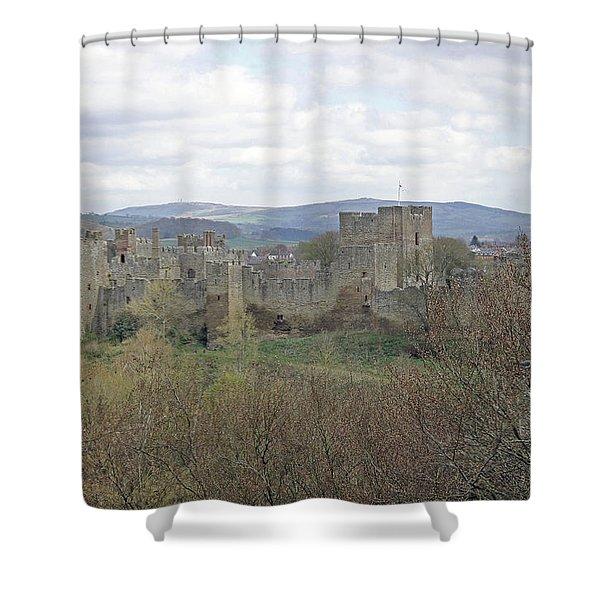 Ludlow Castle Shower Curtain