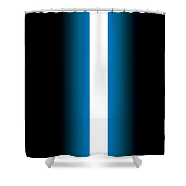 Luke's Lightsaber I Shower Curtain