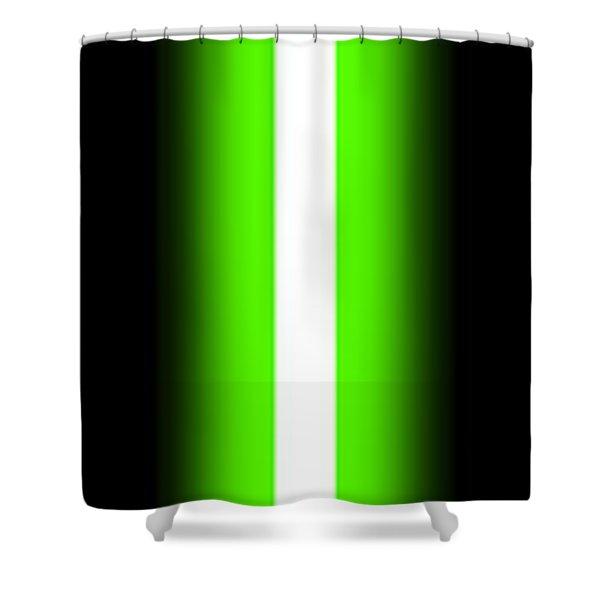 Luke's Lightsaber II Shower Curtain