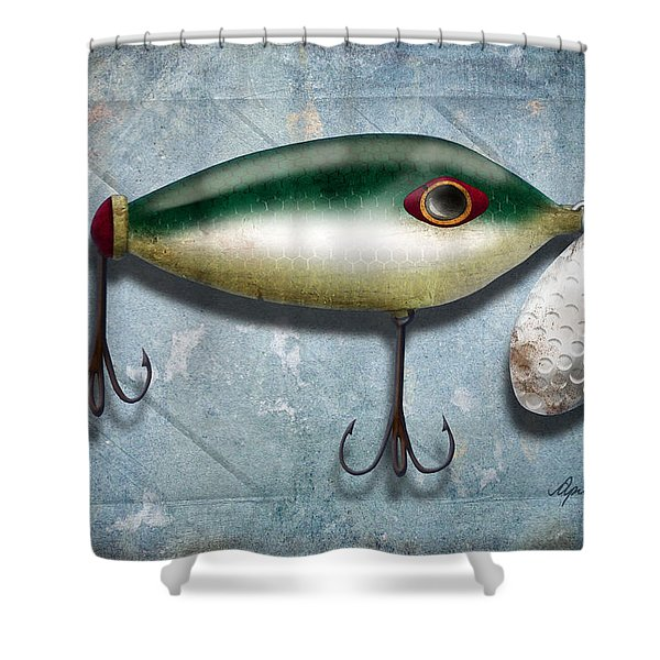 Lure I Shower Curtain