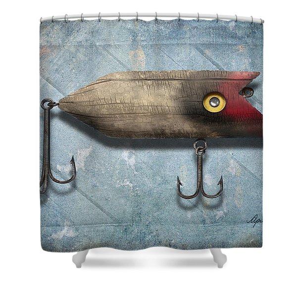 Lure II Shower Curtain