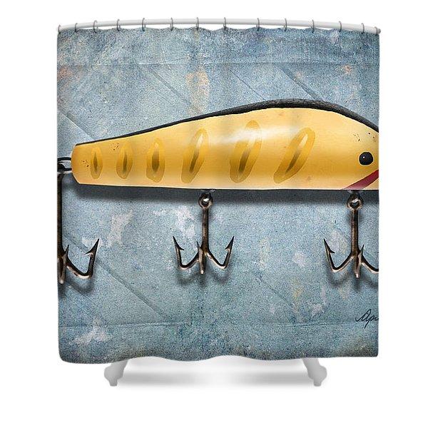Lure IIi Shower Curtain