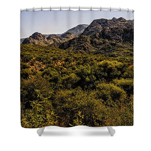Lush Foothills No.1 Shower Curtain