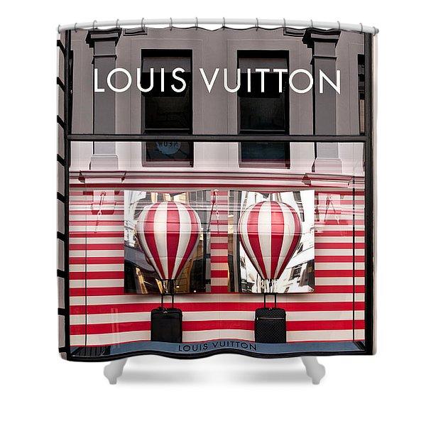 Lv Hot Air Balloons 02 Shower Curtain