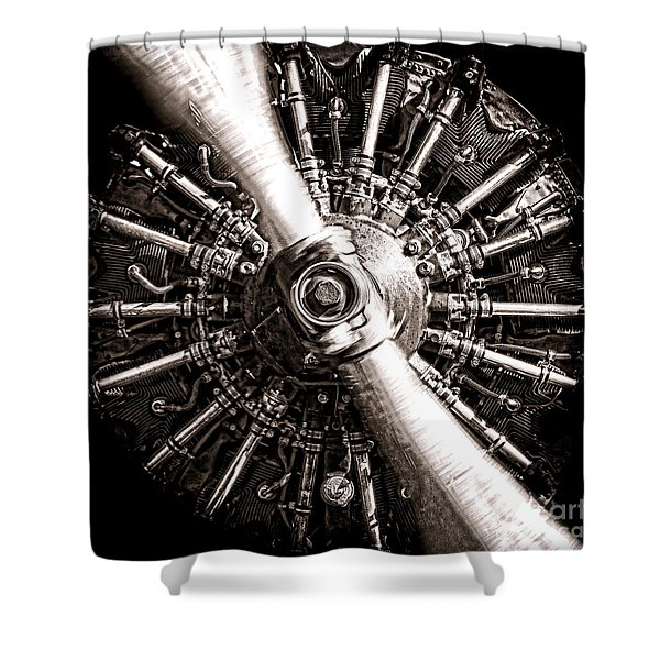 Lycoming  Shower Curtain