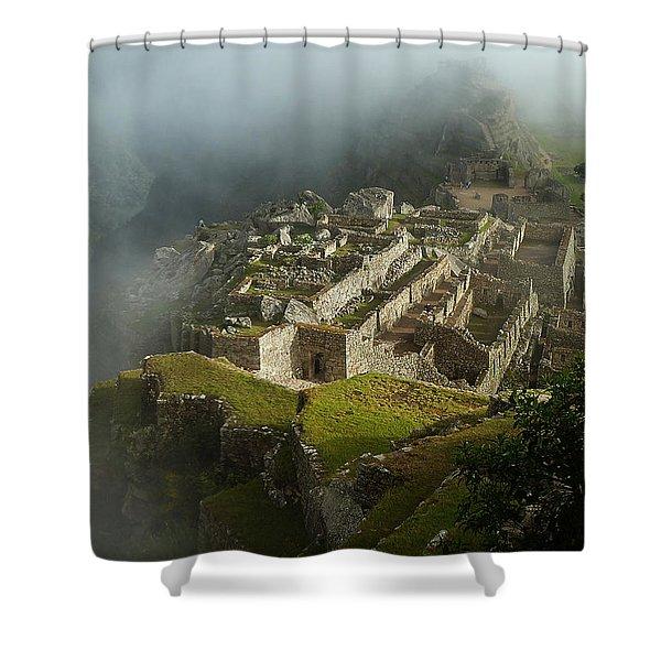 Machu Picchu Peru 2 Shower Curtain