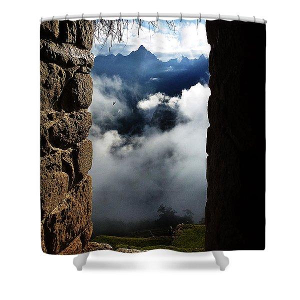 Machu Picchu Peru 4 Shower Curtain