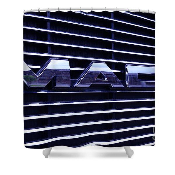 Mack Truck Grill Shower Curtain