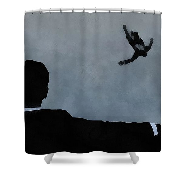 Mad Men Art Shower Curtain