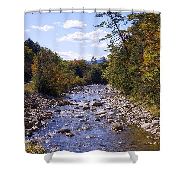 Mad River Shower Curtain