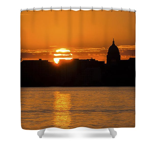 Madison Sunset Shower Curtain