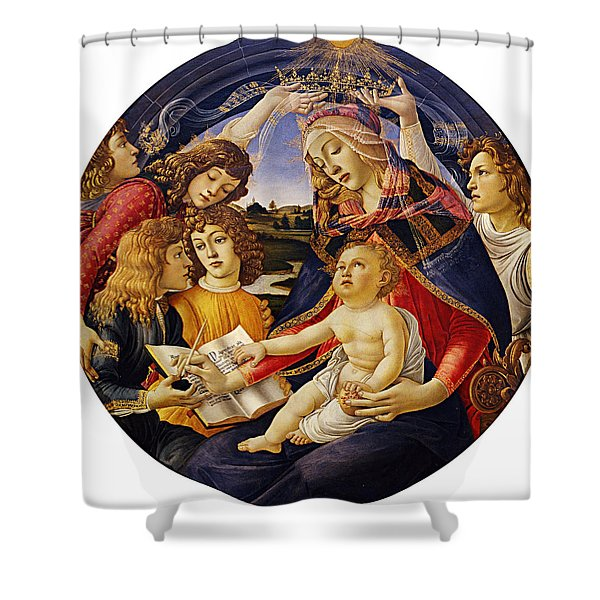 Madonna Of The Magnificat Shower Curtain